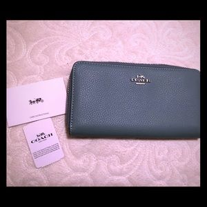 Genuine Leather Coach Wallet